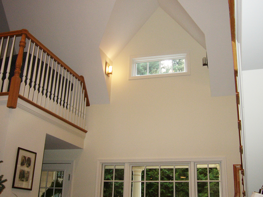 The vertical design components are spectacular - windows, balconies and ceilings!