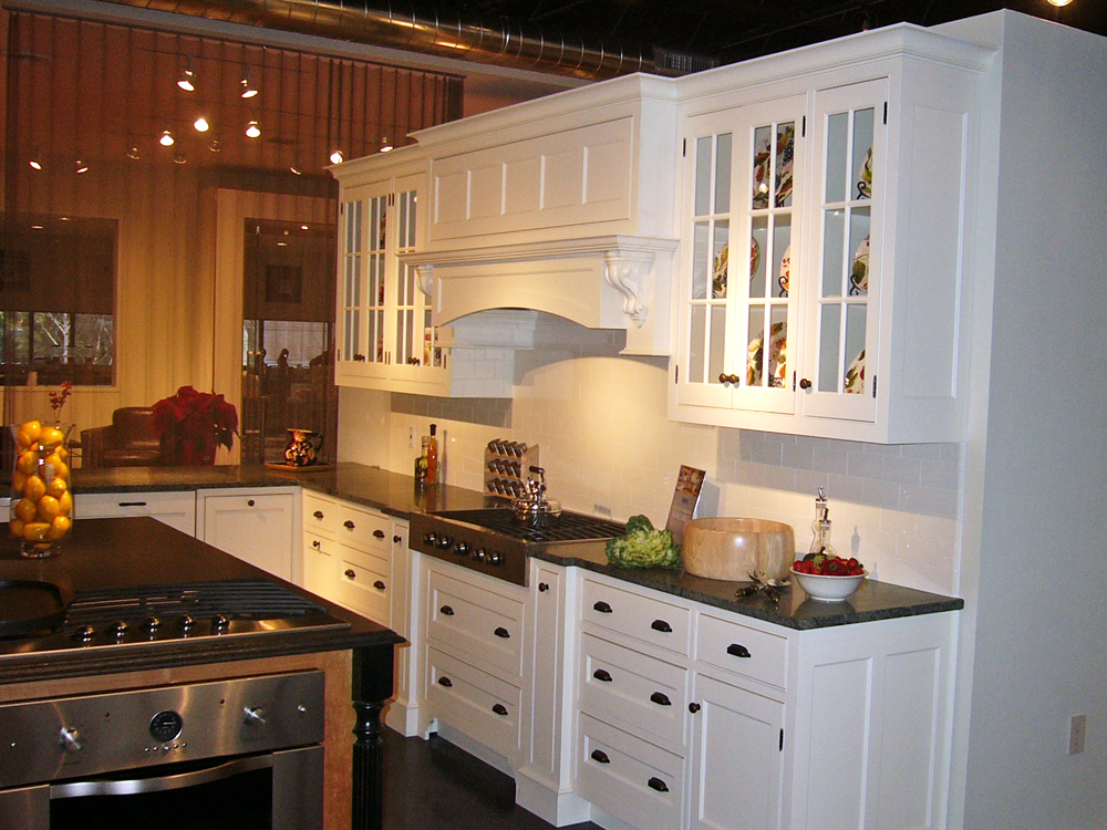 another view of the beautiful cabinets