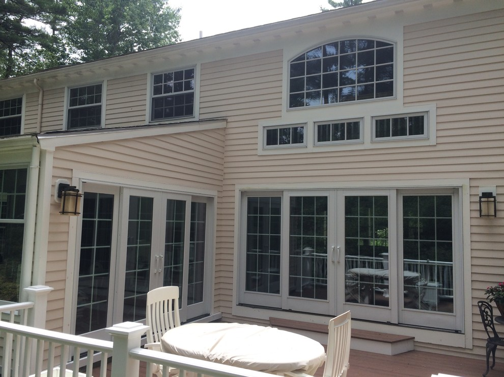 Easy access through the beautiful french doors means you will USE your new deck!