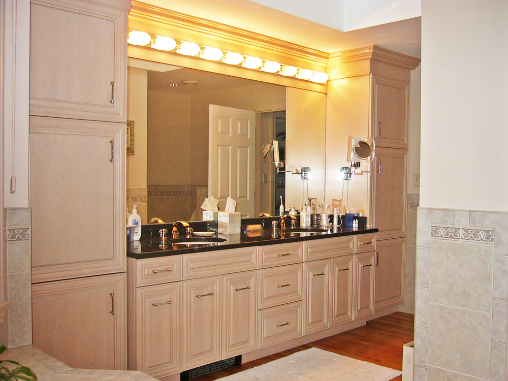 Another elegant double sink.